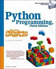 For the Absolute Beginner: Python Programming for the Absolute Beginner by...