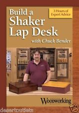 NEW! Build a Shaker Lap Desk with Chuck Bender [DVD]