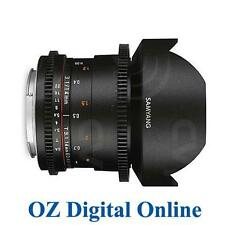 New Samyang 14mm T3.1 ED AS IF UMC VDSLR IIn Mark 2 Lens for Canon 1 Yr Au Wty