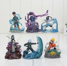 6Pcs/set 7cm Naruto Action Figure New Orochimaru Rock Lee Neji Sasuke Gaara