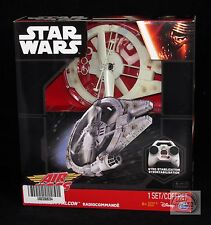 Star Wars Air Hogs Remote Control Millennium Falcon The Force Awakens New Sealed