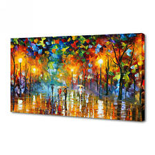 BEAUTIFUL MODERN ABSTRACT WALL ART OIL PAINTING ON CANVAS - tree