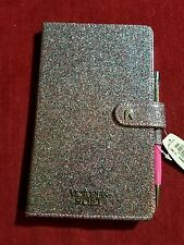 Brand New Victoria's Secret Sparkle Glitter Pink Journal Diary Notebook with Pen