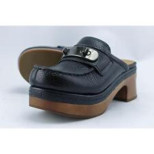 Coach Adrienne Women US 5 Black Clogs Blemish  16868