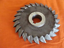 """B.C. CO. DOUBLE ANGLE CUTTER 5"""" X 3/4"""" X 1"""" 60 DEGREES HIGH SPEED STEEL 24 TEETH"""
