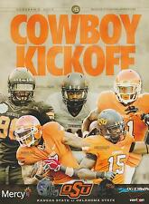 Kansas State Wildcats vs Oklahoma State Cowboys Football Program 10/5/13