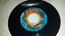 CANDI STATON: Do It In The Name / The Thanks I Get For FAME 256 SOUL 45 RECORD