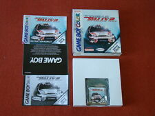 Top Gear Rally 2 II / PAL - SPAIN / MINT / GAME BOY COLOR GBC  ** POWERSELLER **