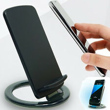 Qi Wireless Quick Fast Charging Dock Stand Pad For Samsung S7 LG HTC iPhone 6S