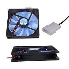 12V 4Pin 140mm 140x25mm Brushless Computer Cooling Fan Sleeve Bearing 1500RPM