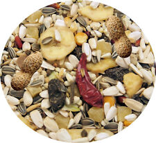 FRUIT Deluxe Parrot Mix Seed Food Great Seed 1kg  food Feed Sunflower Peppers