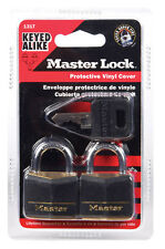 Master Lock Padlock 2 Locks Keyed Alike 131T   1 3/16""
