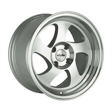 16x8 Whistler KR1 4x100mm +20 Silver Wheels Fits Integra Civic Miata E30 Fox