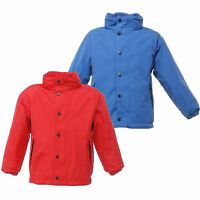 RRP £35 REGATTA KIDS TERM-TIME REVERSIBLE FLEECE LINED WATERPROOF JACKET