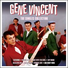 Gene Vincent SINGLES COLLECTION Best Of 60 Songs ESSENTIAL HITS New Sealed 3 CD