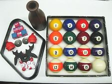 "2-1/4"" NEW Premium Billiard Pool Table Ball Set w/ Accessory Kit"