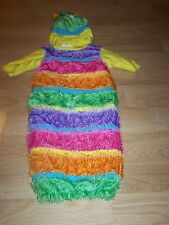 Infant Baby Girls Size 0-3 Months Inch Worm Halloween Costume Bunting Rubies EUC