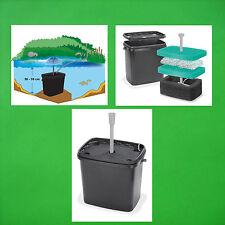 Filterbox Teichfilter für Solarpumpe Teichpumpe Filter Gartenteichpumpe Teich **