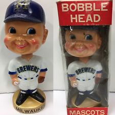 1974 Milwaukee Brewers Wisconsin  Nodder Bobblehead Vintage Baseball