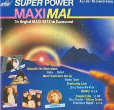 SUPER POWER massimo (1987, Maxis) Sandra, Rick Astley, 16 bit, pseudo [CD ALBUM]