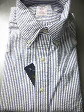 New! Brooks Brothers  Seersucker Shirt ~ NWT - Slim Fit ~ USA ~ Small