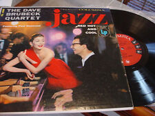 DAVE BRUBECK  red hot and cool, nm lp on COLUMBIA 6 EYE, 1955
