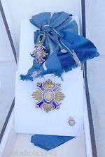 Espagne Civile Ordre du mérite dans étui -- Orden del Mérito civil -- un Gran Cruz