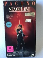 SEA OF LOVE VHS late-80's thriller Al Pacino John Goodman Ellen Barkin