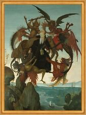 The Torment of Saint Anthony Michelangelo Sankt Teufel Peinigung B A2 02882