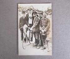 Vintage 1930s Bicycling Real Photograph Postcard Germany Stayer Bike RPPC Velo