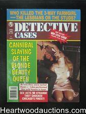 Detective Cases Apr 1985 Bondage Cover