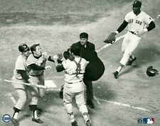 BOBBY MURCER 8x10 New York Yankees vs Boston Red Sox AWESOME FIGHT PHOTO @Fenway