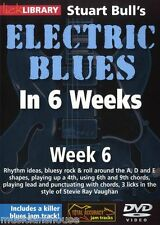 LICK LIBRARY Stuart Bull's ELECTRIC BLUES GUITAR In 6 WEEKS Rock & Roll DVD 6