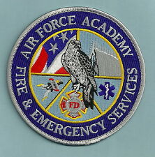 UNITED STATES AIR FORCE ACADEMY COLORADO FIRE RESCUE PATCH