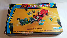 Vintage Smash Up Derby Set 1973 Kenner General Mills - 3 Cars 2 Ramps T Pull ++