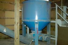 Wooden Waste Disposal System; vertical tub grinder , auger, hot air wood furnace