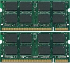4GB (2x2GB) PC2-5300 DDR2-667 667MHz 200pin Sodimm Laptop Memory Module RAM