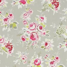 Studio G Rose Garden in Pebble Curtain Upholstery Craft Fabric