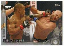 2015 Topps UFC Chronicles Silver Parallel #170 Hector Lombard