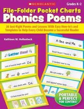 File-Folder Pocket Charts: Phonics Poems: 20 Just-Right Poems and Lessons With E