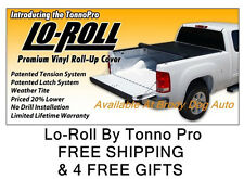 2004-2012 Chevy Colorado 6 FT Roll Up Tonneau Bed Cover By Tonno Pro LR-1025