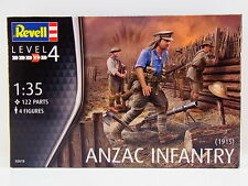 LOT 32709 | Revell 02618 Anzac Infantry 1915 Figuren 1:72 Bausatz NEU in OVP