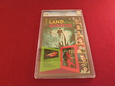 "1969 4th Issue "" LAND OF THE GIANTS "" CGC 9.4 NM GOLD KEY ORIGINAL COMIC BOOK"
