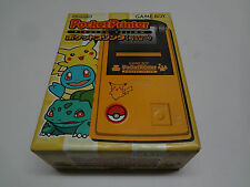 Pocket Printer Pikachu Yellow Nintendo Game Boy Japan NEW