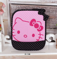 New Cute Hello Kitty Laptop Computer Mouse Pad Mat Black Gifts