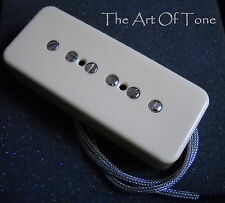 NEW WOLFETONE P90 Custom Wound Pickup MEANEST (10K+) - SOAP BAR - CREAM P-90