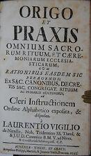 Nicollis-Origo et prassi rituum et CAEREMONIARUM ecclesiasticarum - 1732