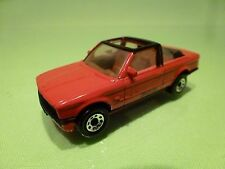 MATCHBOX  LESNEY -  NO=  BMW 323I CABRIOLET BAUER   - IN VERY GOOD CONDITION