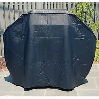 "NEW Mr. BBQ Premium Large Heavy-Duty Gas Grill Cover in Black, 68"" X 21"" X 42"""