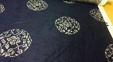"""SAMSARA"" FROM THE SAMADHI COLLECTION LINEN FABRIC 10 METRES"